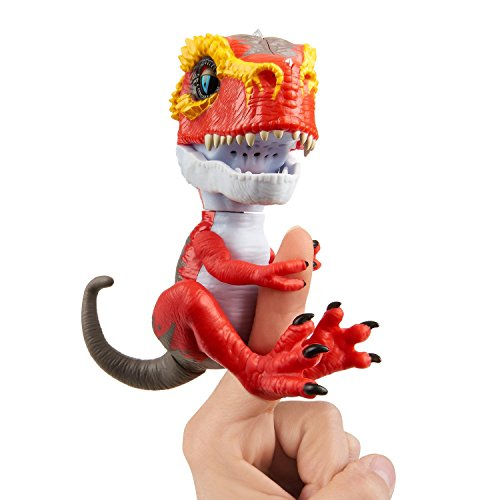Wowwee- Ripsaw Fingerlings T-Rex, Color rojo (3786) , color/modelo surtido