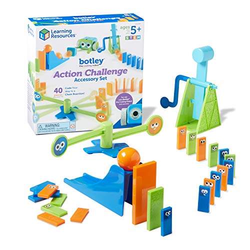 Learning Resources Botley The Coding Robot Action Challenge Accessory Set accesorios codificador,...
